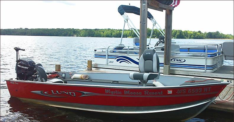 Hayward wisconsin boat rentals fishing boats pontoons for Fishing cabin rentals wisconsin